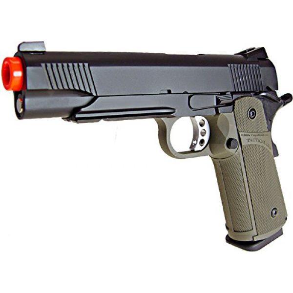KJW Airsoft Pistol 2 KJW model-615g kp05-s gas/co2 blowback full metal/od green(Airsoft Gun)