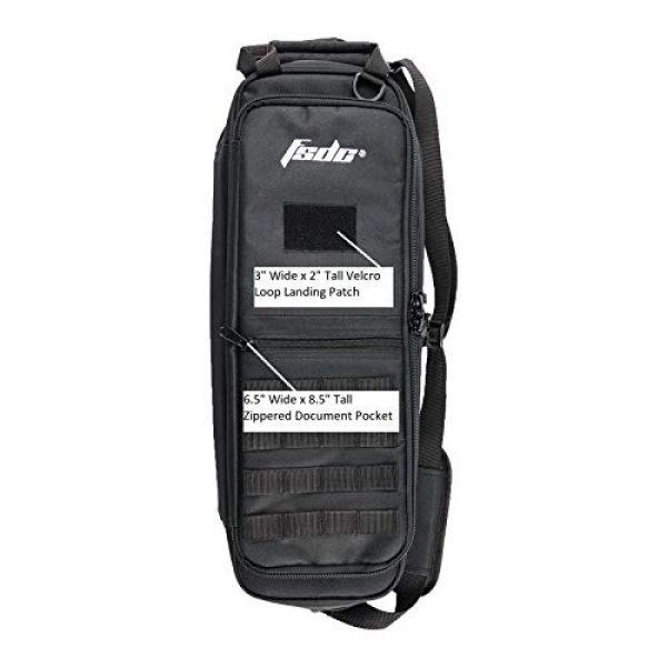 FSDC Tactical Backpack 4 FSDC CARETAKER Black Takedown Bag Gen II
