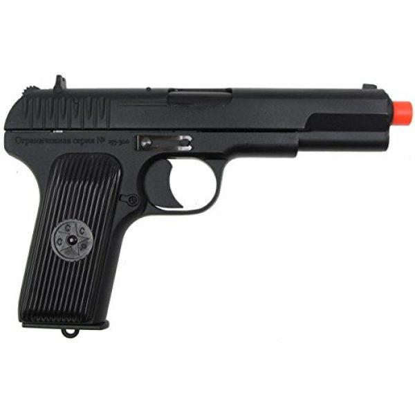 SRC Airsoft Pistol 3 SRC tt33 black star gas blowback full metal with gun case by src(Airsoft Gun)