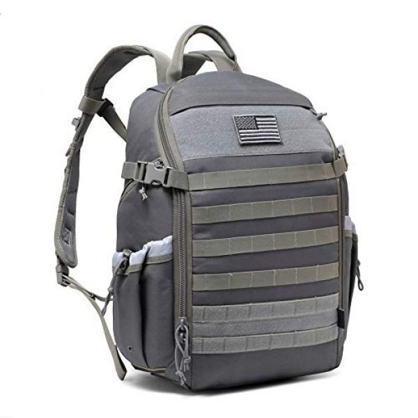 DBTAC Tactical Backpack 1 DBTAC Tactical Backpack Molle Hiking Daypack 25L with Laptop/Hydration Pockets