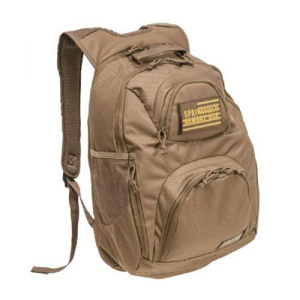SPRINGFIELD ARMORY Tactical Backpack 1 Springfield Armory Tactical Backpack - Coyote Tan