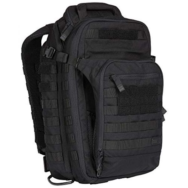 5.11 Tactical Backpack 3 5.11 Tactical All Hazards Nitro Backpack, Nylon, 21-Liter Capacity, Gear Compatible, Style 56167