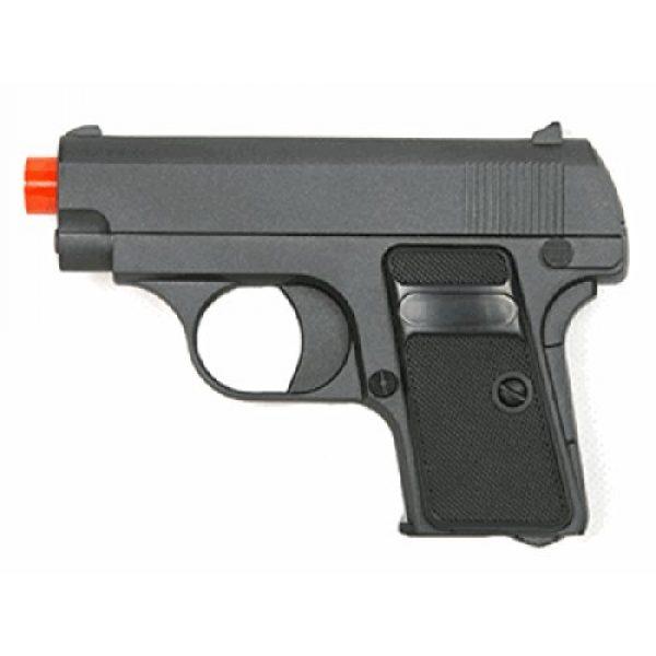 BBTac Airsoft Pistol 1 g.1 airsoft 6mm pistol metal zinc alloy shell hand gun(Airsoft Gun)