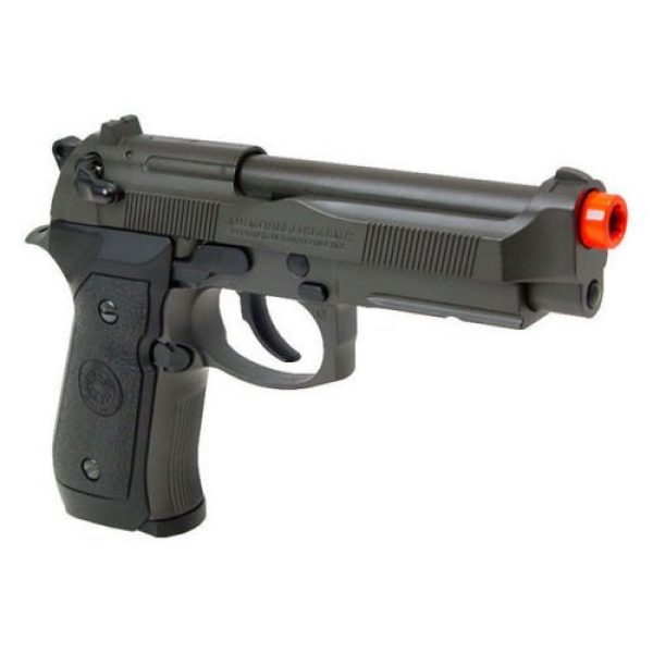 HFC Airsoft Pistol 1 HFC full metal gas powered blowback airsoft pistol m9 with gun case new 320 fps(Airsoft Gun)