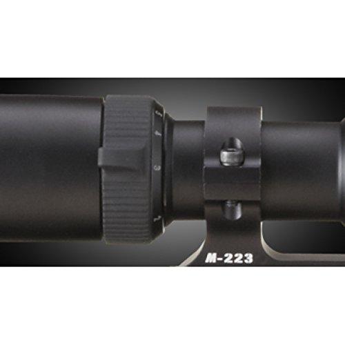 Nikon Rifle Scope 3 Nikon M-223 1-4x20mm Riflescope, Matte BDC 600 Reticle w/ Interchangeable Turret 16301