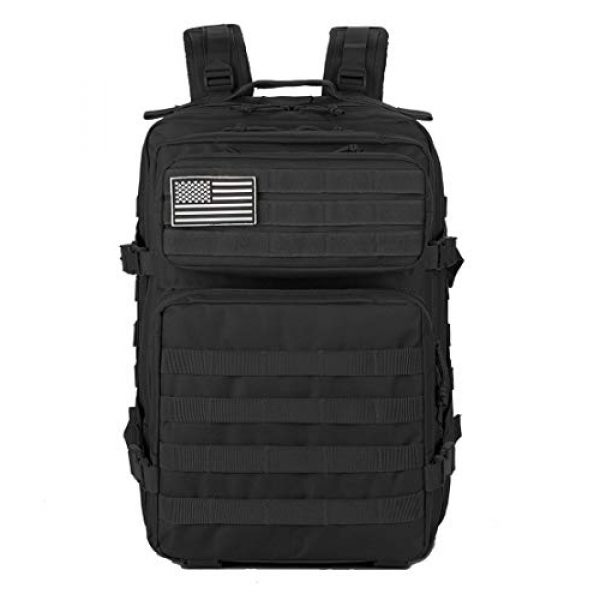 QT&QY Tactical Backpack 2 QT&QY 45L Military Tactical Backpacks Molle Army Assault Pack 3 Day Bug Out Bag Hiking Treeking Rucksack