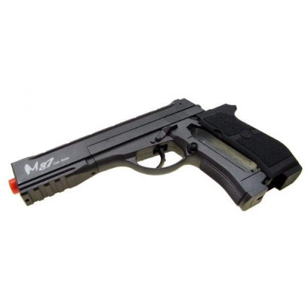 WG Airsoft Pistol 5 WG m84 long full metal co2 airsoft pistol - black/sliver(Airsoft Gun)
