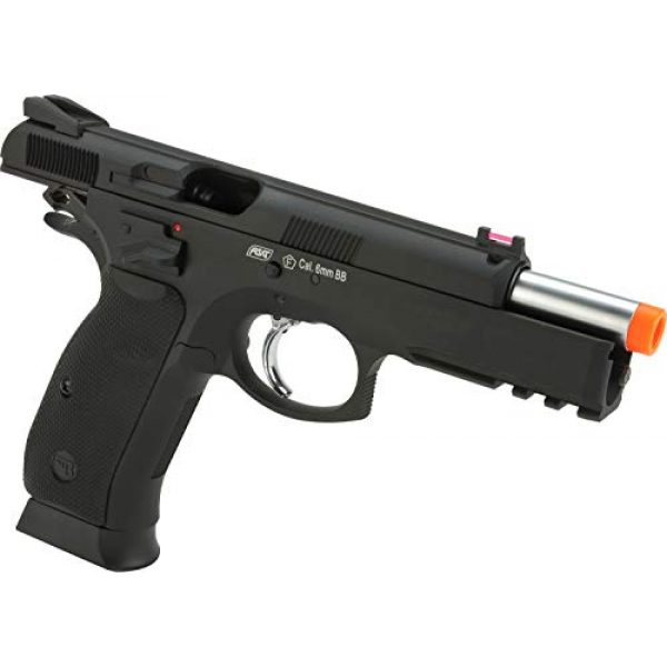 Evike Airsoft Pistol 4 Evike CZ75 SP-01 Shadow Gas Blowback Airsoft Pistol by ASG