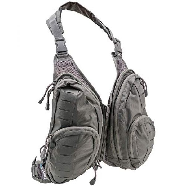 LA Police Gear Tactical Backpack 1 LA Police Gear Tactical Chest Pack Attachment