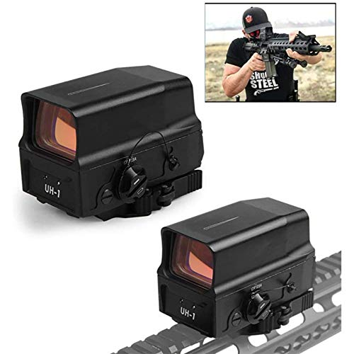 TTHU Rifle Scope 1 TTHU Rifle Scope Red Dot Sight Scope Holographic Sight for 20Mm Rail Hunting Scopes with USB Charge for Hunting