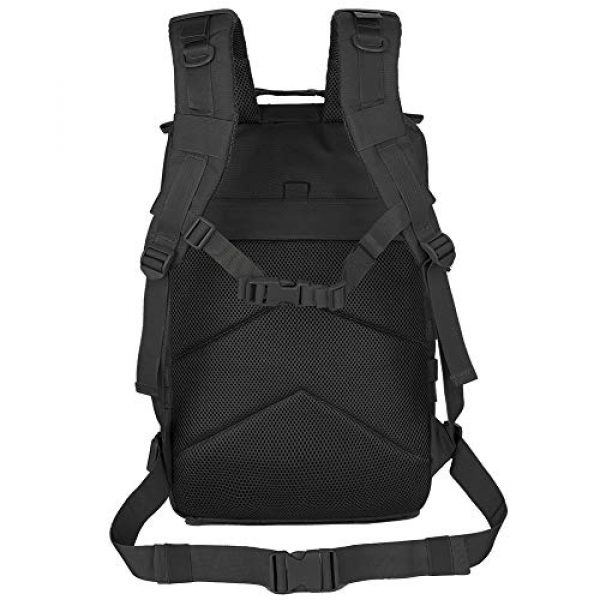 QT&QY Tactical Backpack 4 QT&QY 45L Military Tactical Backpacks Molle Army Assault Pack 3 Day Bug Out Bag Hiking Treeking Rucksack