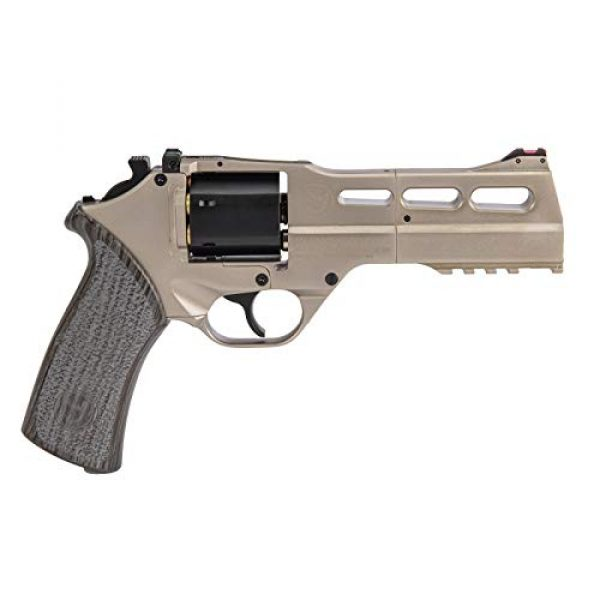 Lancer Tactical Air Pistol 2 Lancer Tactical Limited Edition Airgun Chiappa Rhino 50Ds CO2 Revolver Silver .177 Caliber