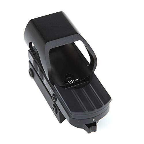 DJym Rifle Scope 6 DJym Red Dot Reflex Sight- Reflex Sight Optic and Substitute for Holographic Red Dot Sights