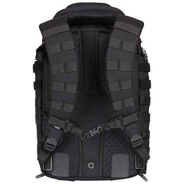5.11 Tactical Backpack 2 5.11 Tactical All Hazards Nitro Backpack, Nylon, 21-Liter Capacity, Gear Compatible, Style 56167