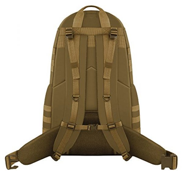 East West U.S.A Tactical Backpack 3 East West U.S.A RT516 Tactical Camouflage Trizip Molle Hunting Camping Hiking Assault Backpack