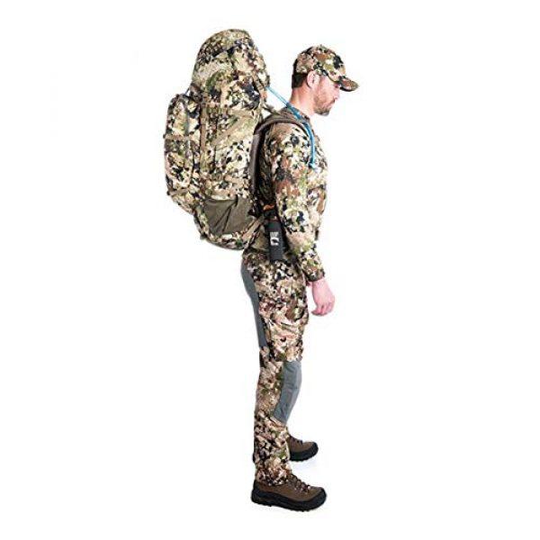 SITKA Gear Tactical Backpack 7 Sitka Mountain Hauler 4000 Framed Expandable Hunting Pack