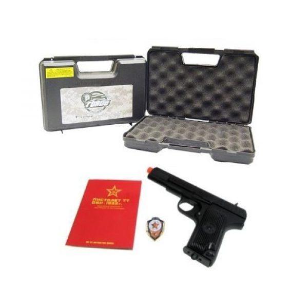 SRC Airsoft Pistol 1 SRC tt33 black star gas blowback full metal with gun case by src(Airsoft Gun)