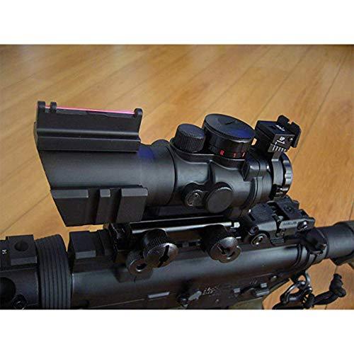 Sniper Rifle Scope 6 Sniper Prism Scope 4X 32mm Red/Green/Blue Illuminated Reticle