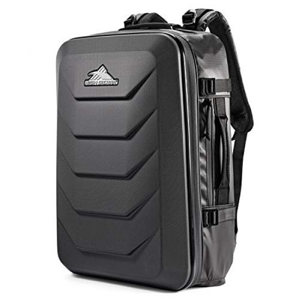High Sierra Tactical Backpack 1 High Sierra OTC 35L Carry-on Weekender Suitcase Luggage - Ideal for Travel and Laptop Backpack