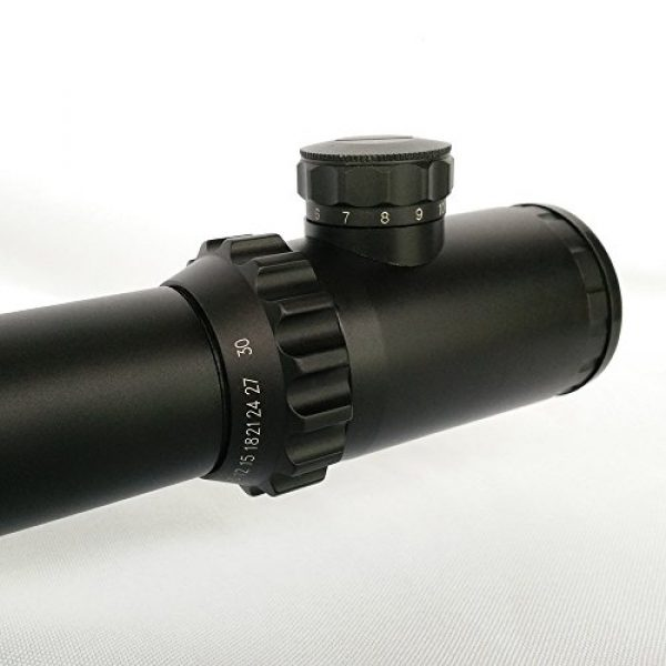 SECOZOOM Rifle Scope 7 Secozoom Optical Sight FFP Riflescope Hunting 3-30x56 Rifle Scope W/e 35mm Lockable First Focal Plane