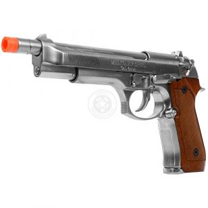 WE Airsoft Pistol 1 WE Tech Full Metal M9 Tactical Extended Length Gas Blowback Airsoft Pistol
