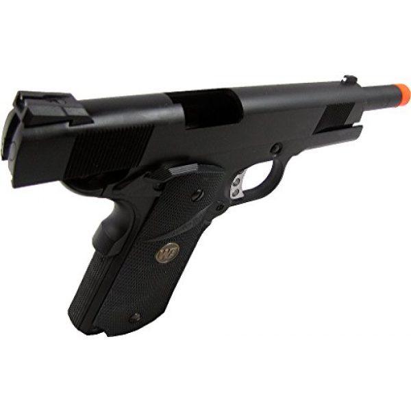 WE Airsoft Pistol 3 WE meu 191 gas blowback full metal - black(Airsoft Gun)