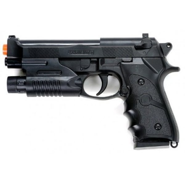 Velocity Airsoft Airsoft Pistol 1 UKARMS m757r m9 spring airsoft pistol fps-190 w/ aiming sight(Airsoft Gun)