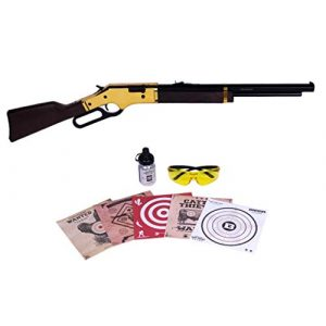 Barra Air Rifle 1 Barra Airguns 1866 Air Rifle Junior Bundle Kit .177 Cal Pellet and BB Gun for Kids and Youth