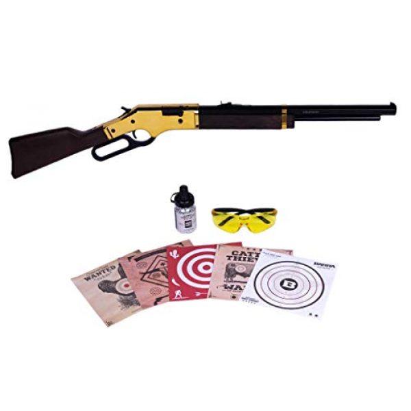 Barra Air Rifle 1 Barra Airguns 1866 Air Rifle Junior Bundle Kit .177 Cal Pellet and BB Gun for Kids and Youth