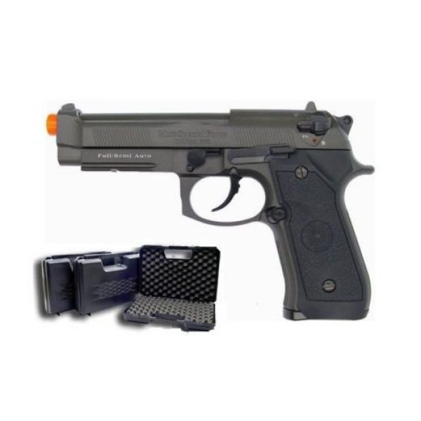 HFC Airsoft Pistol 5 HFC m9 full metal gas blowback airsoft pistol semi/full auto built-in rail(Airsoft Gun)