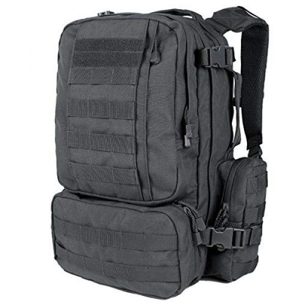 Condor Tactical Backpack 1 Condor 169-027 Convoy Outdoor Tactical Pack Slate