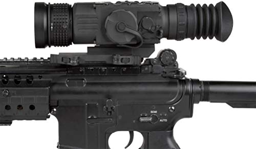 AGM Global Vision Rifle Scope 7 AGM 3093555006PY51 Model Python TS50-640 Medium Range Thermal Imaging Rifle Scope, 640x512 (60Hz) Resolution, 50mm Lens, 2X Optical Magnification, Field of View 14.8x11.8, Waterproof