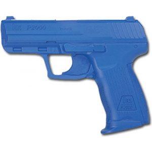ACK, LLC Rubber Training Pistol Blue Gun 1 ACK, LLC Ring's Blue Guns Training Weighted H&K P2000 European Version Gun