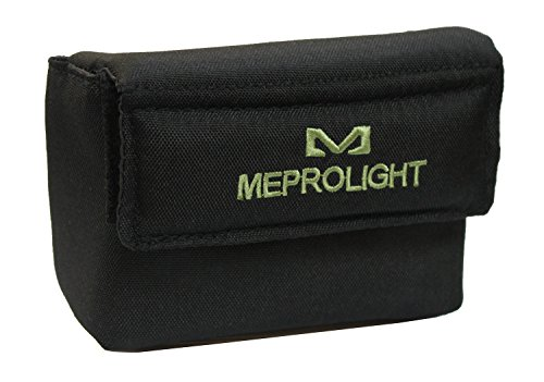 Ultimate Arms Gear Rifle Sight 2 Ultimate Arms Gear Meprolight The Mako Group Tactical Protective Carry Velcro Storage Cushioned Pouch with Belt Loops for The M21 Self-Powered Day/Night Reflex Sight Lens Cleaning Kit
