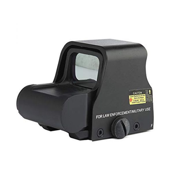 DJym Rifle Scope 1 DJym HD Fast Aiming Accessories, Red Dot Sights Waterproof Shockproof 22mm Rail