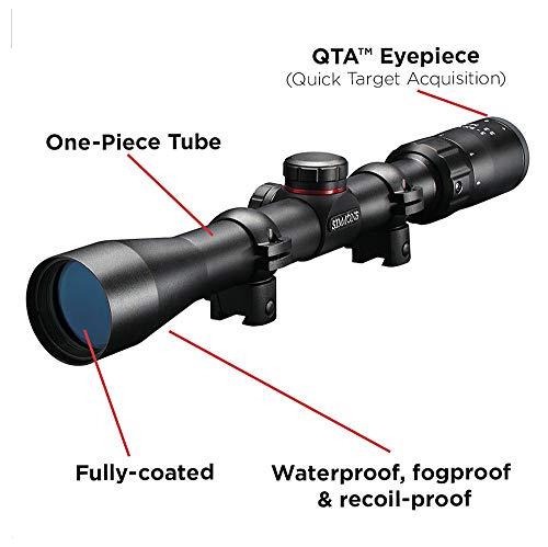 Simmons Rifle Scope 2 Simmons 3-9x32mm .22 Waterproof Fogproof Matte Black Riflescope (511039)
