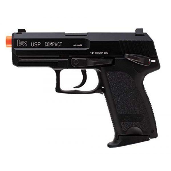Wearable4U Airsoft Pistol 3 Wearable4U H&K Heckler & Koch USP GBB(KWA) Blowback Airsoft Pistol Green Gas BB Air Soft Gun Bundle (Black)