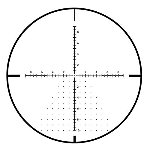 WSHA Rifle Scope 4 WSHA 3-18x50 Rifle Scope - Hunting Sniper Optical Sight with Illuminated MOA Reticle and Parallax Adjustment, Precision Shooting