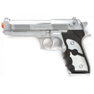 Velocity Airsoft Airsoft Pistol 1 ukarms m757s m9 spring airsoft pistol fps-190 (silver)(Airsoft Gun)