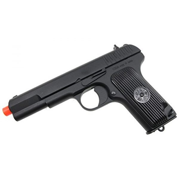 SRC Airsoft Pistol 5 SRC tt33 black star gas blowback full metal with gun case by src(Airsoft Gun)