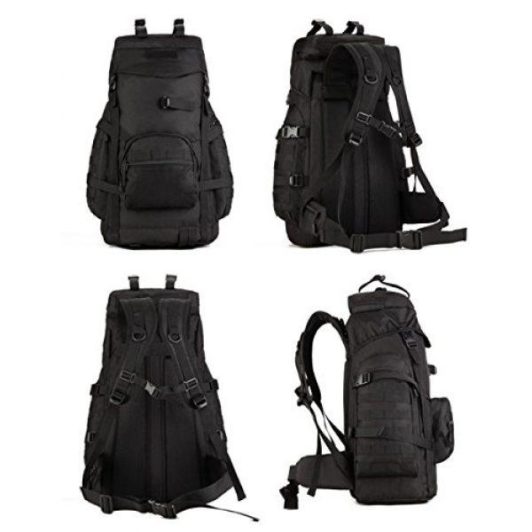 Huntvp Tactical Backpack 2 Huntvp 55L Tactical Military MOLLE Backpack Rucksack