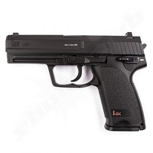 Umarex Airsoft Pistol 1 heckler & koch usp co2 airsoft pistol, black(Airsoft Gun)