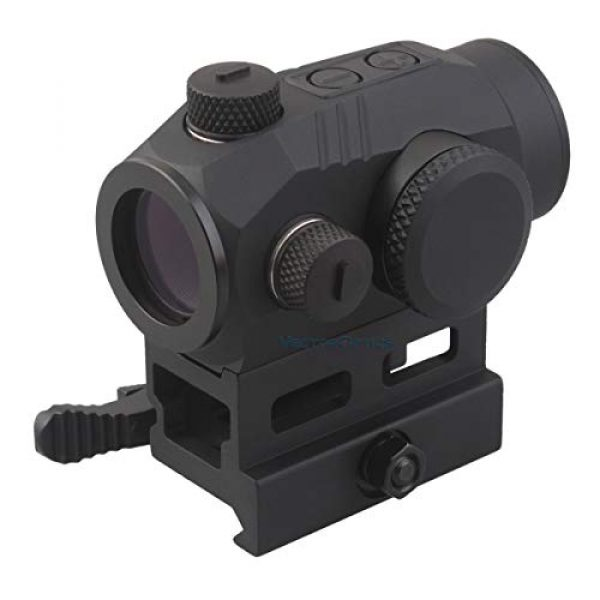 Vector Optics Rifle Scope 2 Vector Optics Harpy 1x22 AR Red Dot Sight Scope with QD Riser Picatinny Mount