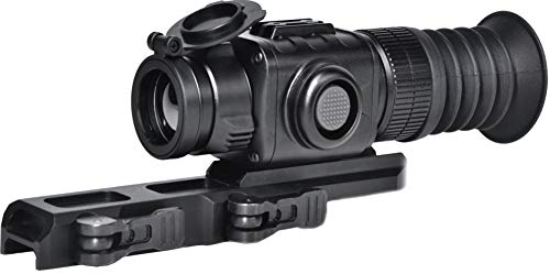 PRG Defense Rifle Scope 1 PRG Defense 3093455004PM21 Model Python TS35-Micro Compact Short/Medium Range Thermal Imaging Rifle Scope, 384x288 Resolution, 35mm Lens, 10.6° x 8° Field of View, 5m Close-up Range, 60m Eye Relief