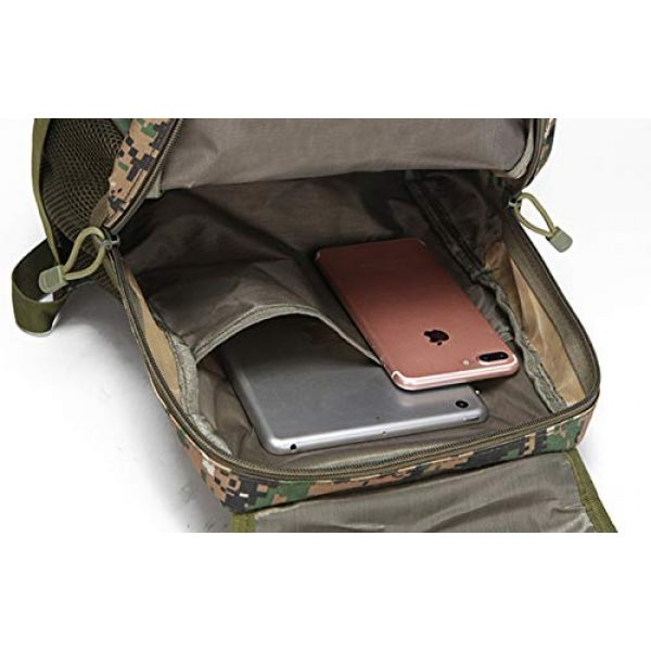 Jipemtra Tactical Backpack 6 Tactical First Aid Bag MOLLE EMT IFAK Backpack Military Emergency (Tan Summer)
