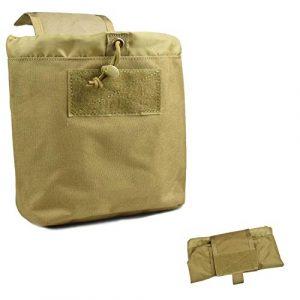 Jadedragon  1 Jadedragon Tactical Folding Dump Pouch Roll-Up Garbage Pouch Foldable Waist Belt Bag