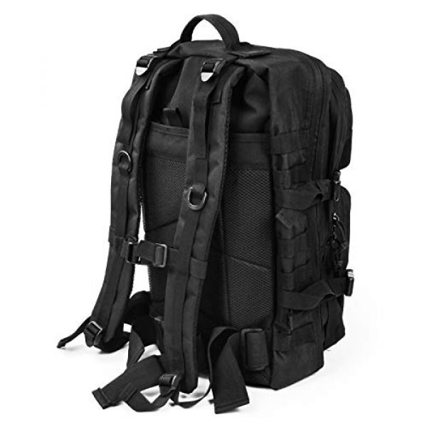 GUGULUZA Tactical Backpack 6 GUGULUZA Military Tactical Molle Backpack Army 3 Day Assault Pack Molle Bag Rucksack for Hunting Camping