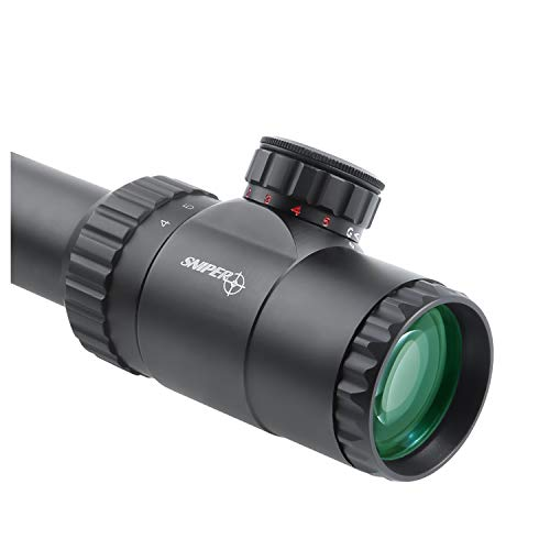 Sniper Rifle Scope 5 Sniper MK4-16X50 SAL Hunting Rifle Scope Red/Green Illuminated Mil Dot Reticle