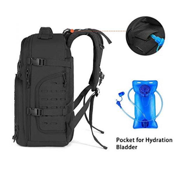 MOSISO Tactical Backpack 3 MOSISO Tactical Backpack, 3 Day Molle Rucksack Hiking Daypack Men Shoulder Bag