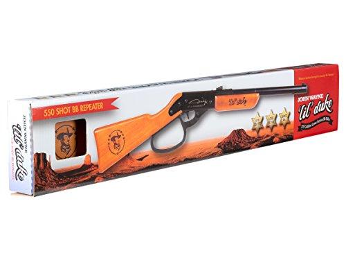 Air Venturi Air Rifle 3 Air Venturi Western Justice John Wayne Lil Duke BB Gun Rifle (Metal Lever - scoped)